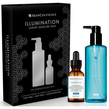 a.   Skinceuticals illumination Luxury Duo kit