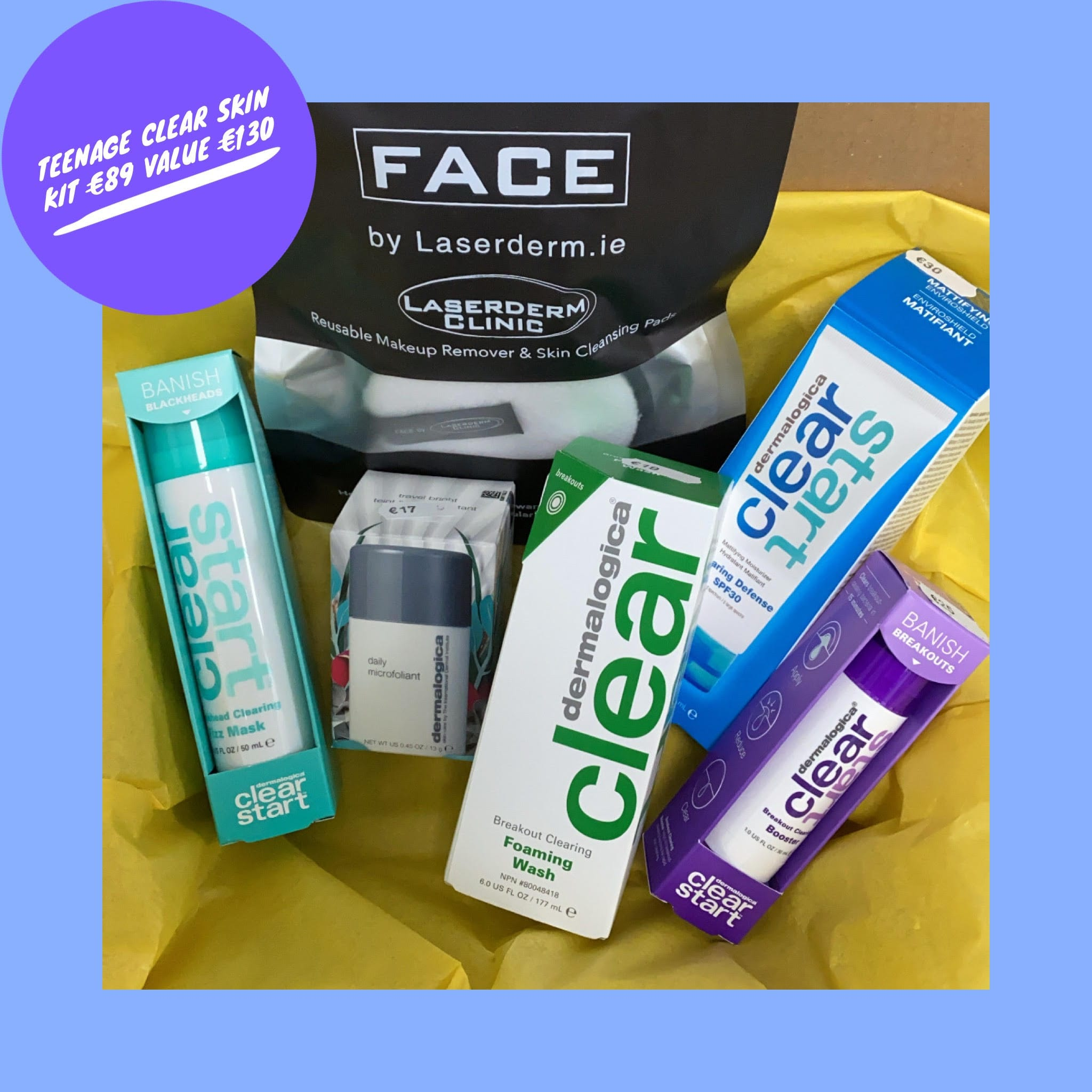 a.    Teenage Clear Skin Kit (promotion price)